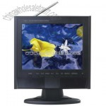 12 inch LCD TV with DVB TV, Card Slot, USB VGA