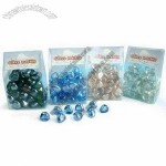 12 to 20mm Glass Kidney Marbles