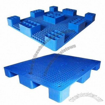 1200 x 1200 x 125mm Blue Plastic Pallet with Durable and Nice Looking
