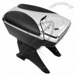 Chrome Center Console Armrest Box w/ Two Hided Cup Holders for Camry Cruze Jetta Bora Golf SX4 Swift Mazda 3 5 6 CL CLK ML Mini Lancer Evo A4 A5 A6 Yaris Range Rover Mustang GTI Series Passat aveo san
