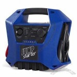 12Ah Jump Starter with 12V Sealed Lead-Acid, Ultra-Bright LED Light and Overcharging Protection