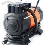 12V DC Air Compressor with 100PSI Pressure, 3m Cord Cigarette Lighter Plug and 0.7m Air Hose