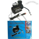 12V DC mini car air compressor for fast air inflation