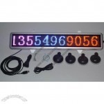 12V LED Car Message Moving Sign