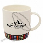 12oz. Personalized Harlequin Designed Ceramic Mugs