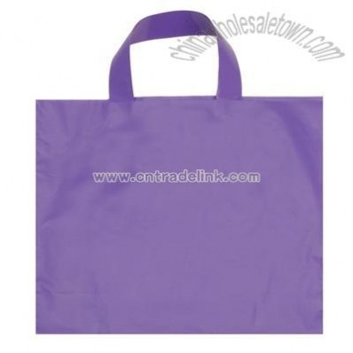 12x10-inch Frosted Plastic Bag