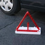 13 inch Tall Fold Away 30 LED Flashing Safety/Warning Triangle