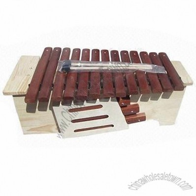 13-tone Xylophone with Sound Box and Modified Tone