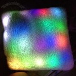 14 Colored LED Lighted Pillow