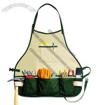 14 POCKET DOUBLE ROW BIB APRON