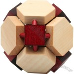 14 Sided Wooden Puzzle
