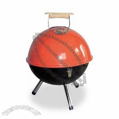 14-inch Football Grill with Cooking Height of 23cm