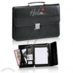 14.75 in x 10.25 in x 4 in Executive 2-in-1 Briefcase and Porftolio