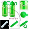 14oz Freezer Stick Sports Bottle with Compass