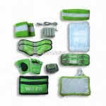 15-in-1 Kit for Wii Fit with Carry Bag Silicon Case and More
