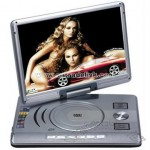 15 inch Portable DVD Player with TV, VGA, USB,Card Reader