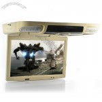 15.6 Inch Flip Down Car Roof Mount Monitor with DVD Player (1440x900, DIVX, TV)