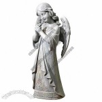 15.75-Inch Praying Angel Garden Statue