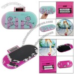 150Kg LCD Screen Skateboard Shaped Digital Flat Weighing Scale