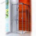 150m Chassis Height Luxury Shower Room with 8 and 10mm Glass Thickness