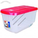 15KG Rice Storage Box, Pet Food Storage Container