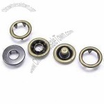 15mm Prong Snap Buttons, Made of Metal
