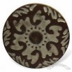 15mm Snap Button, Made of Brass, Sank Pattern with Plating Finishing
