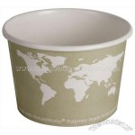 16 Oz. Eco World Art Design Paper Soup Cups
