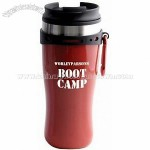 16 Oz. Edge Double Wall Plastic Tumbler with Carabiner Mug