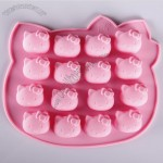16 holes Hello Kitty Silicone Cake Mold
