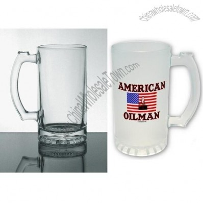 16 oz Advertising Glass - Transparent and frosted