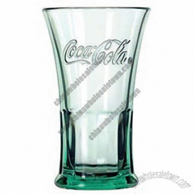 16 oz Footed Flare Coca-Cola Glass