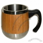 16oz Bamboo Travel Coffee Mugs