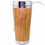 16oz Bamboo Travel Mug