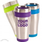 16oz Blue Monday Travel Tumbler