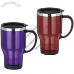 16oz Stainless Steel Vacuum Auto Mugs