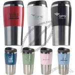16oz. Retro Stainless Steel Mug