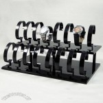 16pcs Acrylic C Holder Watch Display Rack