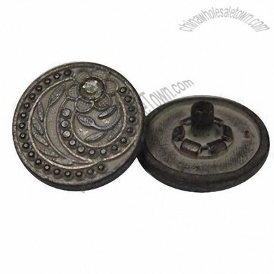 17mm Promotional Alloy Press Snap Buttons