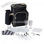 17pc Picnic Set in Backpack