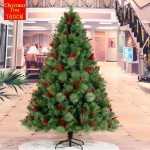 180cm Christmas Tree with Red Dotted