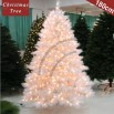180cm LED Lights White Christmas Tree