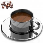 180ml Double stainless Steel Coffee Mug