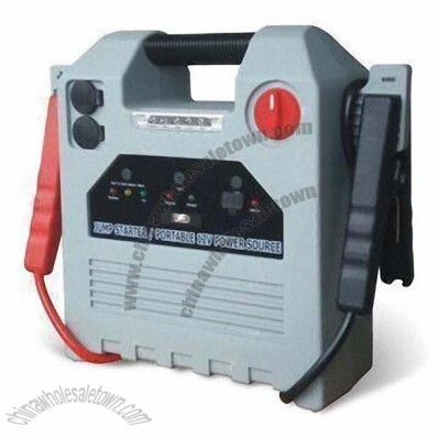 18Ah Jump Starter with Air Compressor