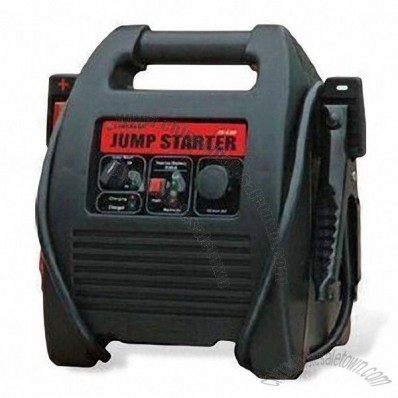 18Ah Jump Starter with Reverse Polarity Warning Alarm, Suitable for AC/DC Adapter and Cigarette Cord