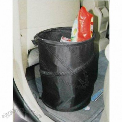 190T Polyester Collapsible Trash Can