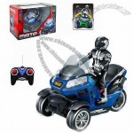 1:10 Scale Remote Control Motorcycle for Kids