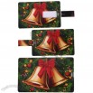 1GB Christmas Bell Pattern Credit Card USB Flash Drive