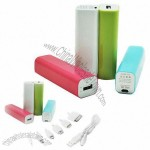 2,200mAh Portable Power Banks for Tablet PCs/Digital Cameras/MP3/MP5 Players/Cellphone