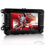 2-Din Car DVD Player for Volkswagen (7 Inch Touchscreen, WIFI, ATSC)